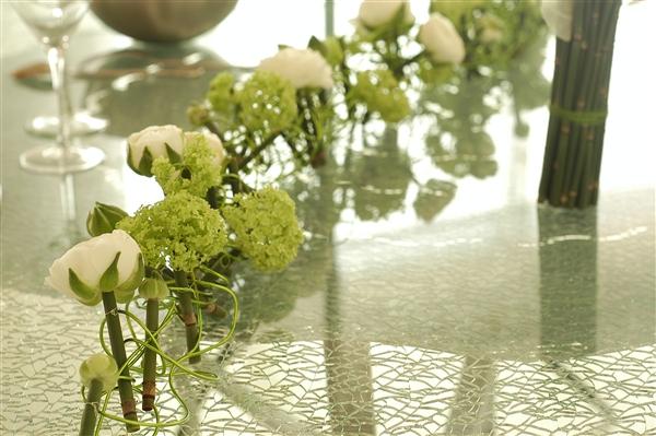 L 39 atelier d 39 alice mariages cr ations florales originales - Chemin de table design ...